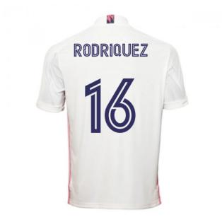 2020-2021 Real Madrid Adidas Home Shirt (Kids) (RODRIQUEZ 16)
