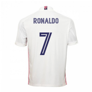 2020-2021 Real Madrid Adidas Home Shirt (Kids) (RONALDO 7)