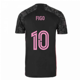 2020-2021 Real Madrid Adidas Third Shirt (Kids) (FIGO 10)