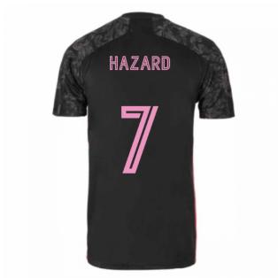 2020-2021 Real Madrid Adidas Third Shirt (Kids) (HAZARD 7)