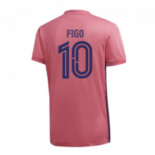 2020-2021 Real Madrid Adidas Womens Away Shirt (FIGO 10)
