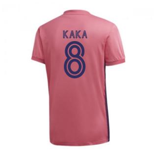 2020-2021 Real Madrid Adidas Womens Away Shirt (KAKA 8)