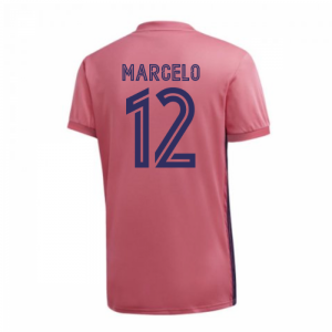 2020-2021 Real Madrid Adidas Womens Away Shirt (MARCELO 12)