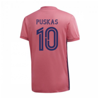 2020-2021 Real Madrid Adidas Womens Away Shirt (PUSKAS 10)