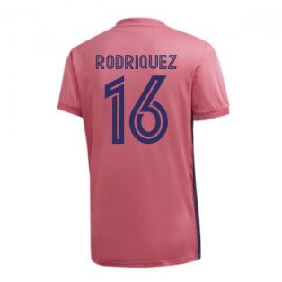 2020-2021 Real Madrid Adidas Womens Away Shirt (RODRIQUEZ 16)