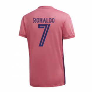 2020-2021 Real Madrid Adidas Womens Away Shirt (RONALDO 7)