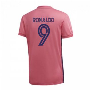 2020-2021 Real Madrid Adidas Womens Away Shirt (RONALDO 9)