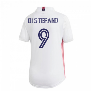 2020-2021 Real Madrid Adidas Womens Home Shirt (DI STEFANO 9)