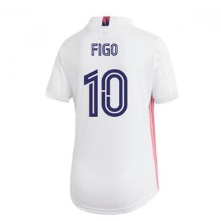 2020-2021 Real Madrid Adidas Womens Home Shirt (FIGO 10)