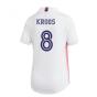 2020-2021 Real Madrid Adidas Womens Home Shirt (KROOS 8)