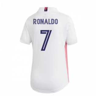 2020-2021 Real Madrid Adidas Womens Home Shirt (RONALDO 7)