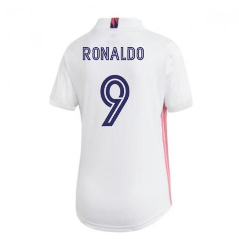 2020-2021 Real Madrid Adidas Womens Home Shirt (RONALDO 9)