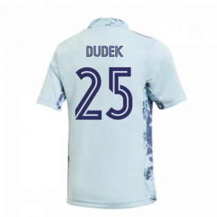 2020-2021 Real Madrid Home Goalkeeper Shirt (Kids) (DUDEK 25)