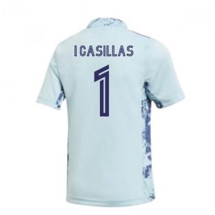 2020-2021 Real Madrid Home Goalkeeper Shirt (Kids) (I CASILLAS 1)
