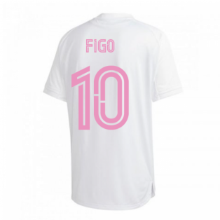 2020-2021 Real Madrid Training Shirt (White) (FIGO 10)
