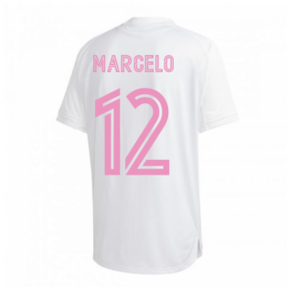 2020-2021 Real Madrid Training Shirt (White) (MARCELO 12)