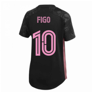 2020-2021 Real Madrid Womens Third Shirt (FIGO 10)