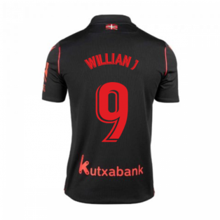 2020-2021 Real Sociedad Away Shirt (WILLIAN J 9)