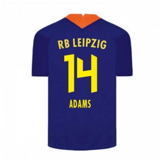 2020-2021 Red Bull Leipzig Away Nike Football Shirt (ADAMS 14)