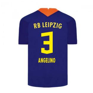 2020-2021 Red Bull Leipzig Away Nike Football Shirt (ANGELINO 3)
