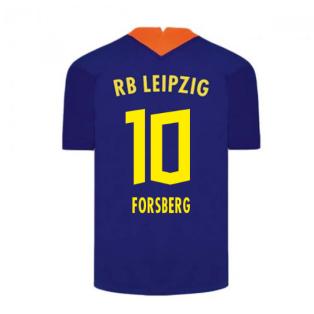 2020-2021 Red Bull Leipzig Away Nike Football Shirt (FORSBERG 10)