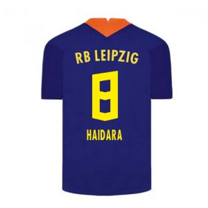 2020-2021 Red Bull Leipzig Away Nike Football Shirt (HAIDARA 8)