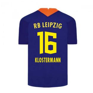 2020-2021 Red Bull Leipzig Away Nike Football Shirt (KLOSTERMANN 16)