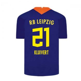 2020-2021 Red Bull Leipzig Away Nike Football Shirt (KLUIVERT 21)
