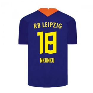2020-2021 Red Bull Leipzig Away Nike Football Shirt (Nkunku 18)