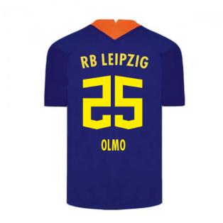 2020-2021 Red Bull Leipzig Away Nike Football Shirt (OLMO 25)