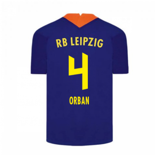 2020-2021 Red Bull Leipzig Away Nike Football Shirt (ORBAN 4)