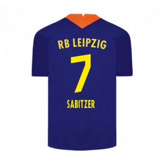 2020-2021 Red Bull Leipzig Away Nike Football Shirt (SABITZER 7)