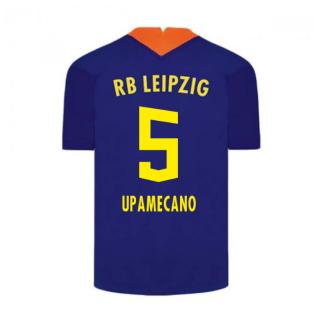 2020-2021 Red Bull Leipzig Away Nike Football Shirt (UPAMECANO 5)