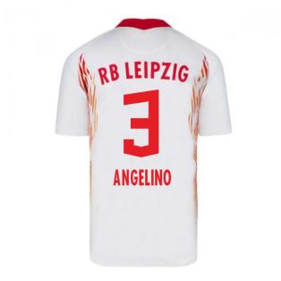 2020-2021 Red Bull Leipzig Home Nike Football Shirt (ANGELINO 3)