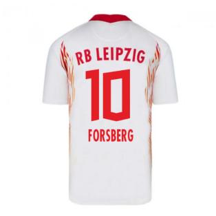 2020-2021 Red Bull Leipzig Home Nike Football Shirt (FORSBERG 10)