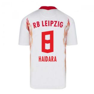 2020-2021 Red Bull Leipzig Home Nike Football Shirt (HAIDARA 8)