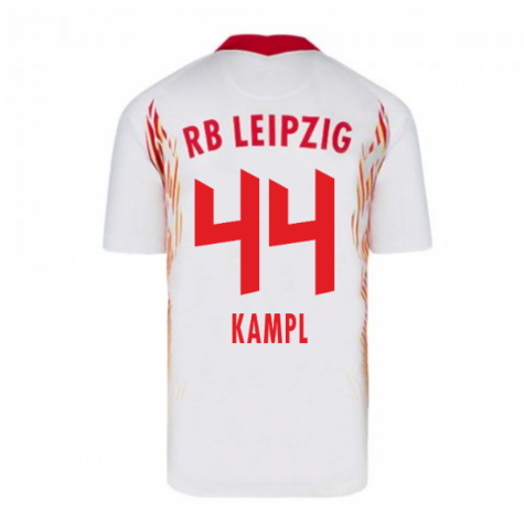 2020-2021 Red Bull Leipzig Home Nike Football Shirt (KAMPL 44)