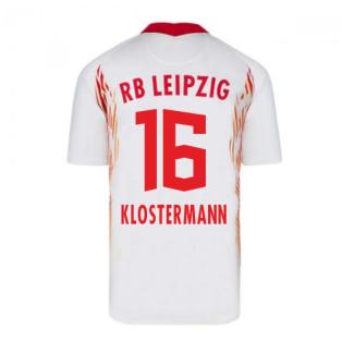 2020-2021 Red Bull Leipzig Home Nike Football Shirt (KLOSTERMANN 16)