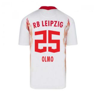 2020-2021 Red Bull Leipzig Home Nike Football Shirt (OLMO 25)