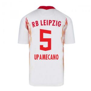 2020-2021 Red Bull Leipzig Home Nike Football Shirt (UPAMECANO 5)