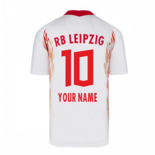 2020-2021 Red Bull Leipzig Home Nike Football Shirt (Your Name)