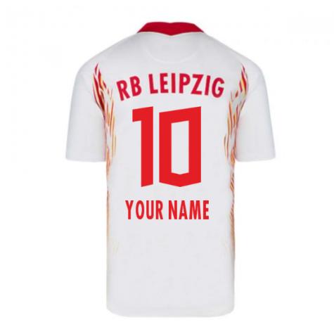 2020-2021 Red Bull Leipzig Home Nike Football Shirt (Your Name)