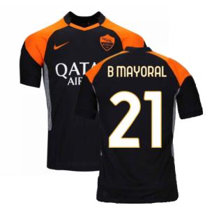 2020-2021 Roma 3rd Shirt (Kids) (B MAYORAL 21)