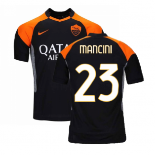 2020-2021 Roma 3rd Shirt (Kids) (MANCINI 23)