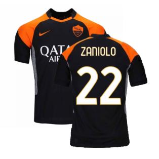 2020-2021 Roma 3rd Shirt (Kids) (ZANIOLO 22)
