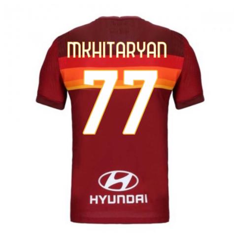 2020-2021 Roma Authentic Vapor Match Home Nike Shirt (MKHITARYAN 77)