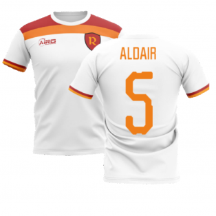 2020-2021 Roma Away Concept Football Shirt (ALDAIR 5)