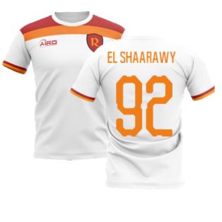 2020-2021 Roma Away Concept Football Shirt (EL SHAARAWY 92)