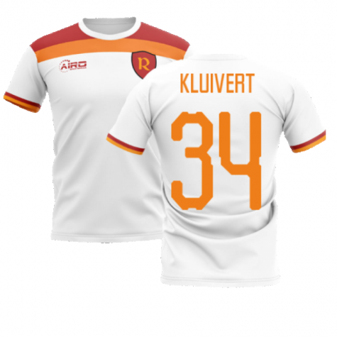 2020-2021 Roma Away Concept Football Shirt (KLUIVERT 34)