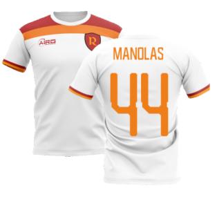 2020-2021 Roma Away Concept Football Shirt (MANOLAS 44)